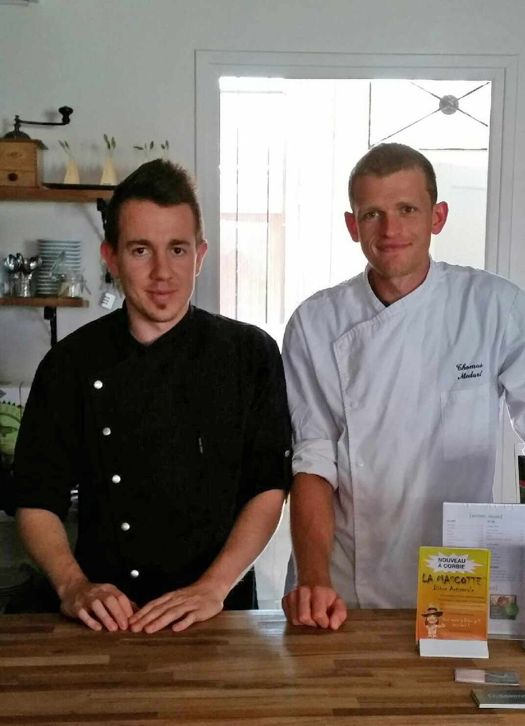 Thomas Medard et Christophe Renaudin, Restaurant Delissimo, à Amiens