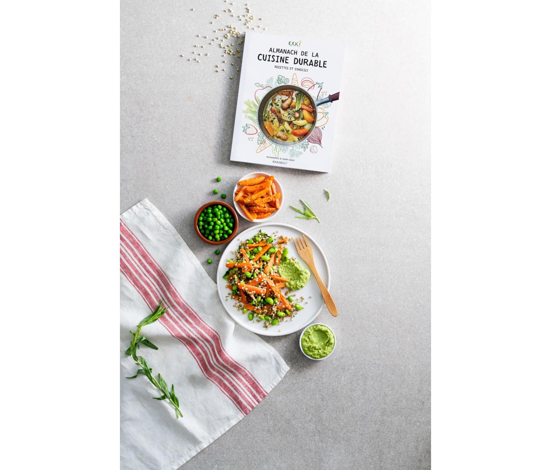 Exki notre partenaire publie l'almanach de la cuisine durable