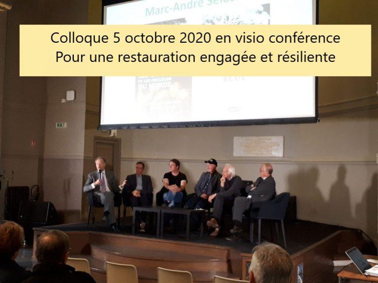 Colloque 2020 en visio conférence